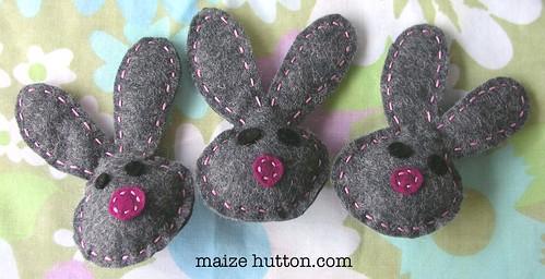 Bunny Bob Pins
