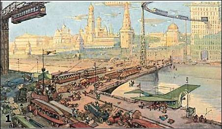 Dark roasted blend moscow futuristic concepts from 1900 for Architecture 1900