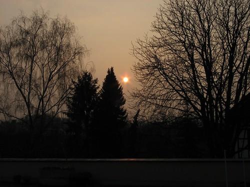 sunrise germany europe hesse otzberg