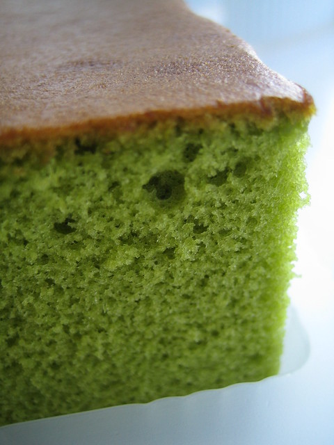 Matcha Castella Cake Recipe