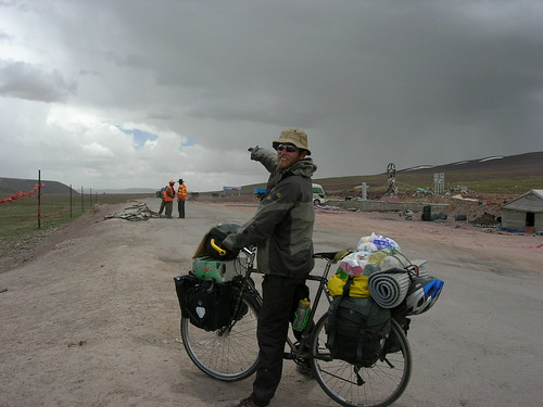 china travel expedition tibet qinghai tanggula bike2005