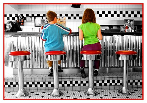 Steak & Shake - Reading the Menu