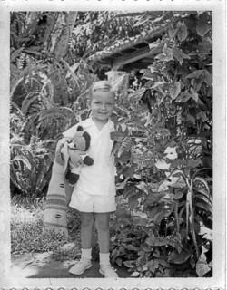 Posing in the Garden 2