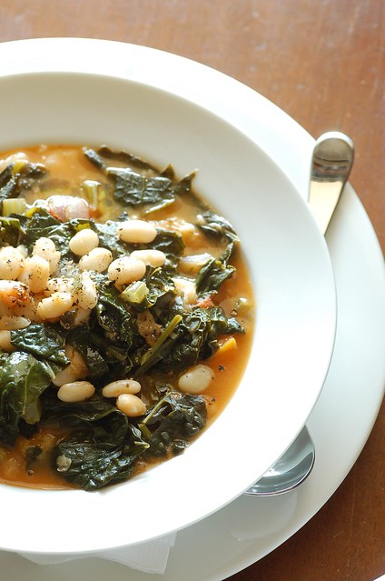 white bean & black cabbage soup | recipe here: thestonesoup ...