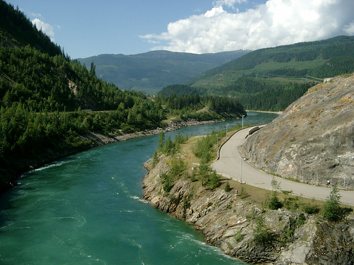 Columbia River near Revelstoke Dam
