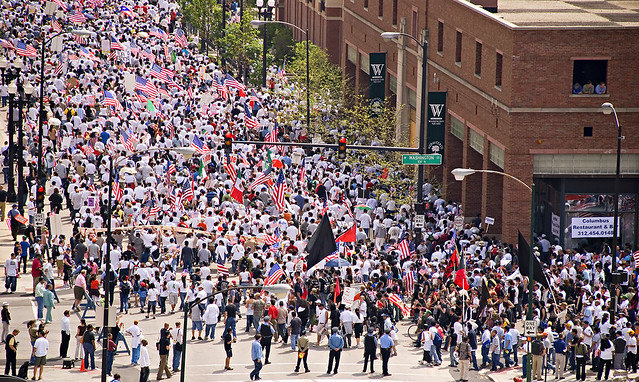 May Day rally 2007