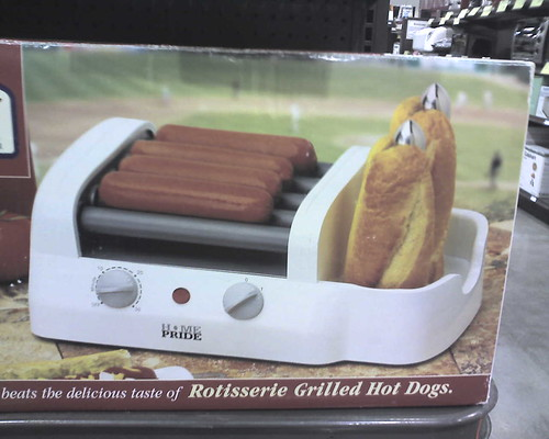 Fry's Appliance Round Up:  Hot Dog Roller + Bun Warmer