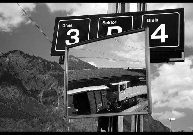 St. Mortiz train route to Chur