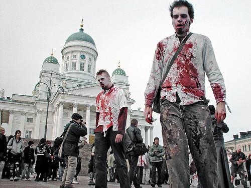 Zombie walk by Sameli