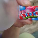 Bubblegum with bubble