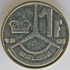 1 Belgischer Franc