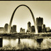 St. Louis - The Arch by Vesuviano - Nicola De Pisapia