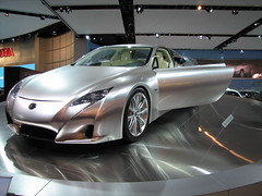 automobile, automotive exterior, wheel, vehicle, performance car, automotive design, lexus, auto show, bumper, concept car, sedan, land vehicle, luxury vehicle, supercar, sports car,
