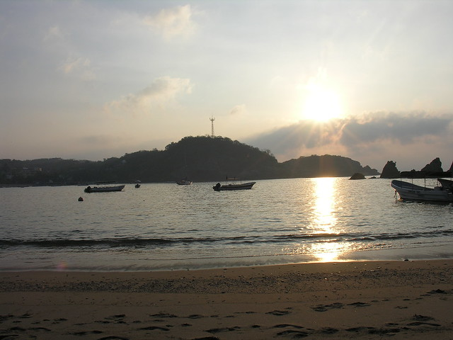 Sunrise in Puerto Angel