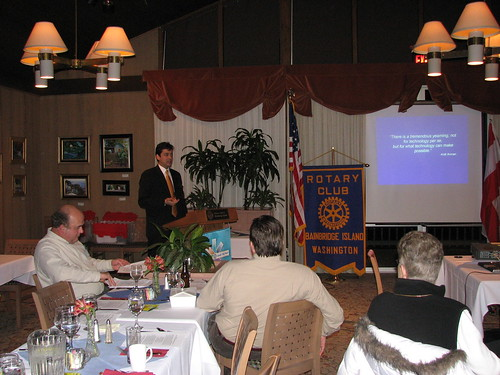 Introducing the Rotary Club of Bainbridge Island to Kabissa