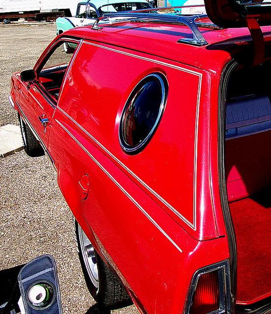 Restored Pinto Cruising Wagon