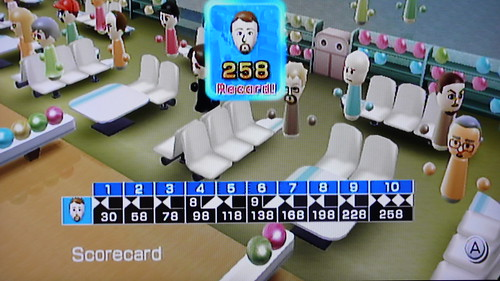 Wii Sports Bowling Record