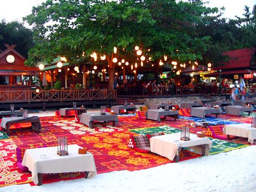 restaurant on the sand koh samet thailand flickr