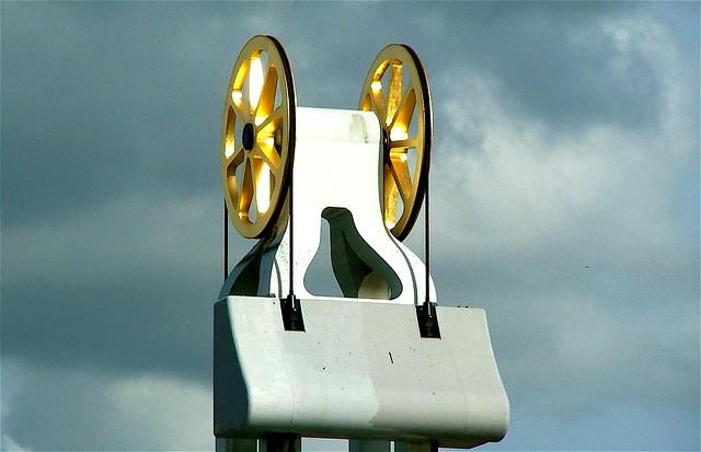 Golden wheel liftbridge-Kampen