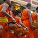 Monks in Morning Alms - Luang Prabang, Laos