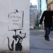 "Banksy - ""London doesn't work"" Rat"
