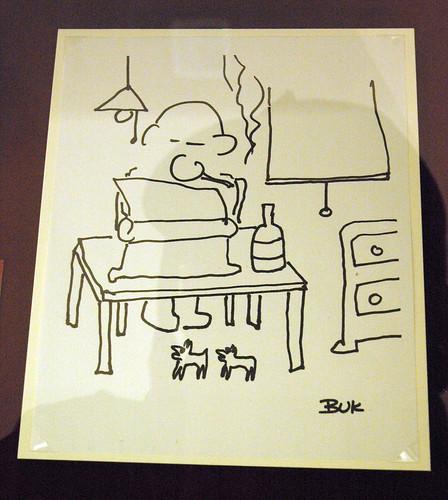 Bukowski-self-portrait