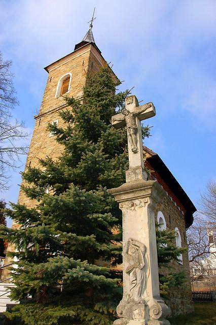 Oravska Polhora church.