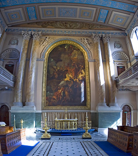 Greenwich Naval College Chapel