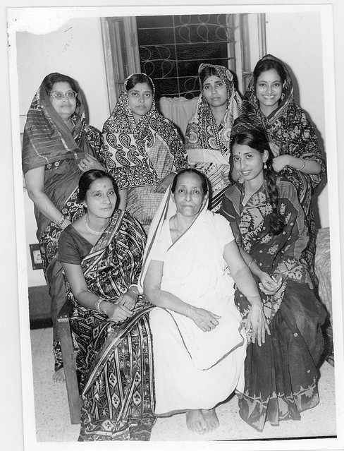 My mom with her mother in law and sisters in law | This pict… | Flickr