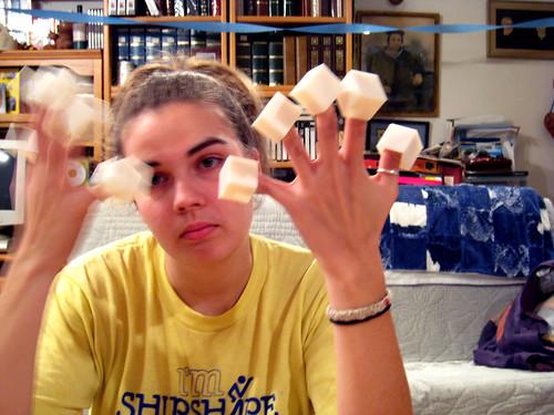 cube fingers