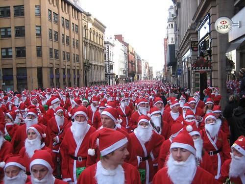 Santa Dash Liverpool 2006