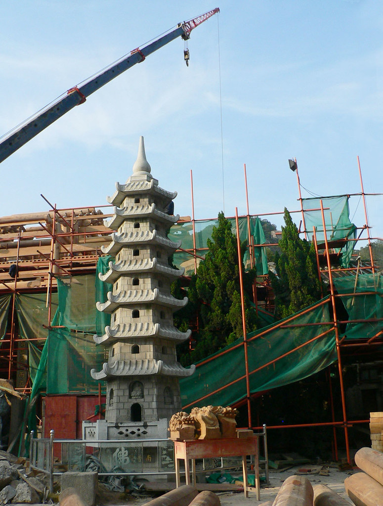 Rebuilding the Buddha Hall #3