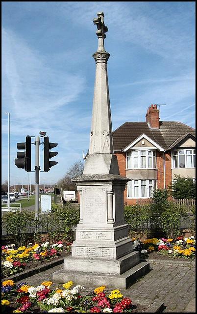War Memorial, Boultham, Lincoln