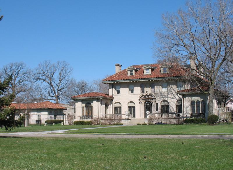 nels michelson mansion 918 w boston blvd boston edison