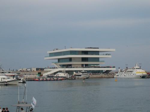 Edificio 'Veles e Vents' en el Puerto de Valencia.