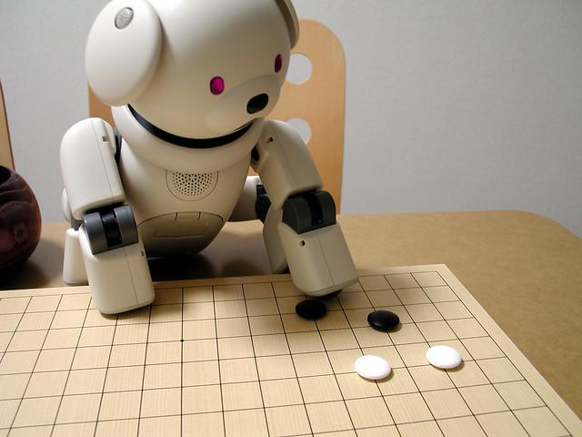 japanese robot plays igo