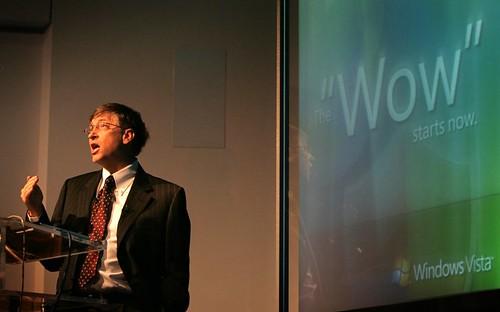 Microsoft Vista UK launch