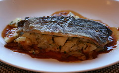 Brook Trout with Granny Smith Apples and Horseradi…