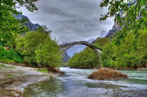 bridge nature geotagged one bravo greece hdr blueribbonwinner epirus konitsa cotcbestof2006 impressedbeauty geo:lat=40036749 geo:lon=2074502