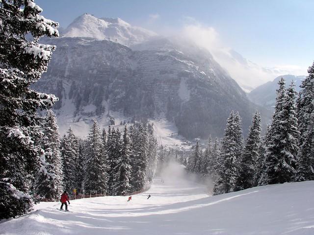 Paradise: ski in Lech!