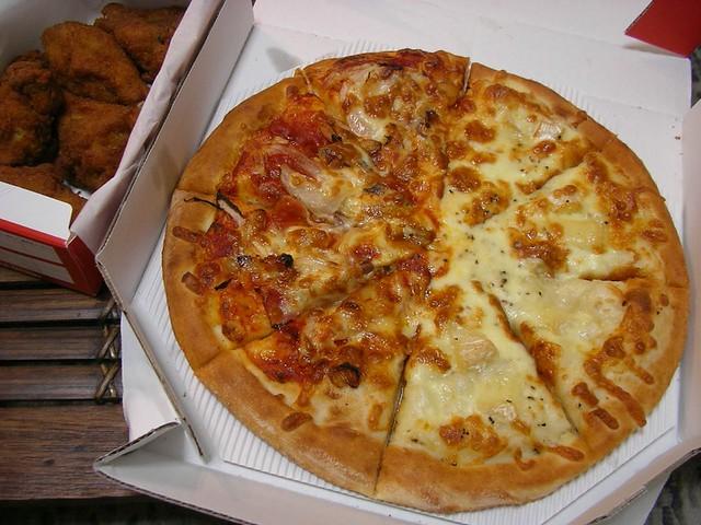 Pizza from Chicago Delita