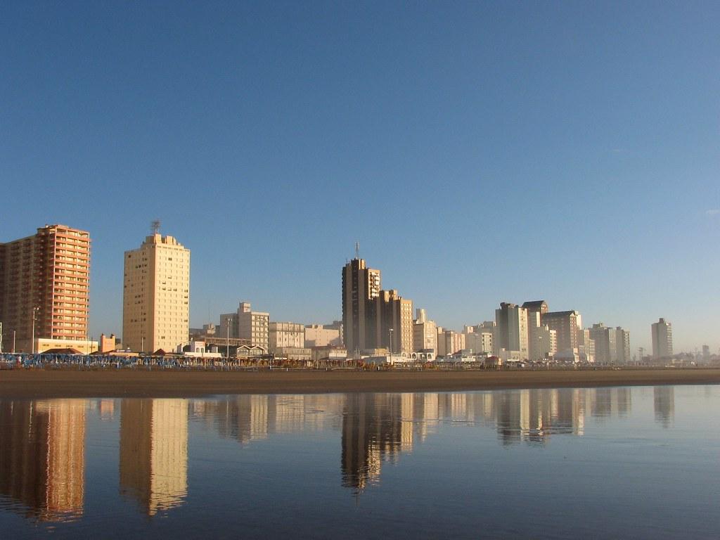 пляж некочеа аргентина