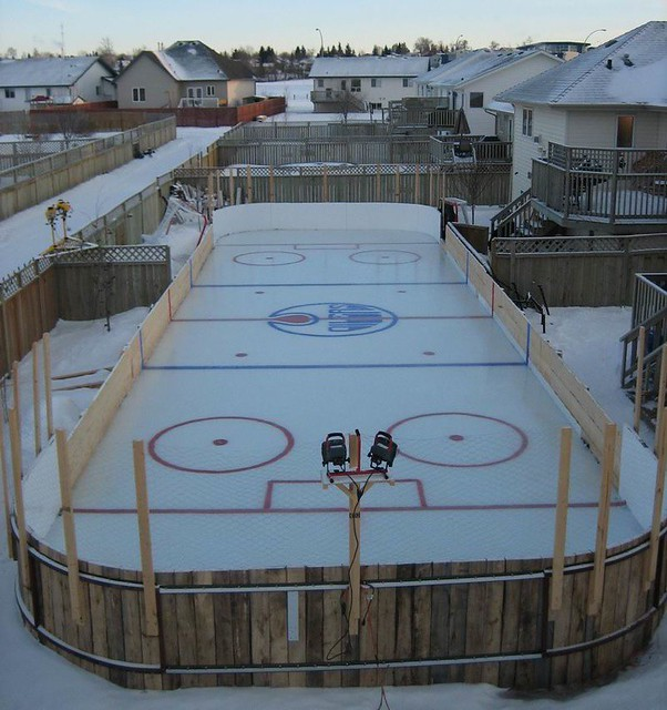 Backyard Rink Liner : Backyard Rinks