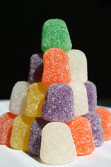 candy, confectionery, sweetness, gumdrop, wine gum, gummi candy, food, dessert, cuisine,