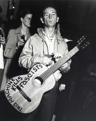 Image result for woody guthrie guitar
