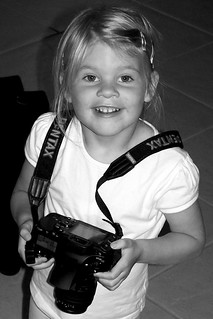 Look Daddy! Your new Camera.