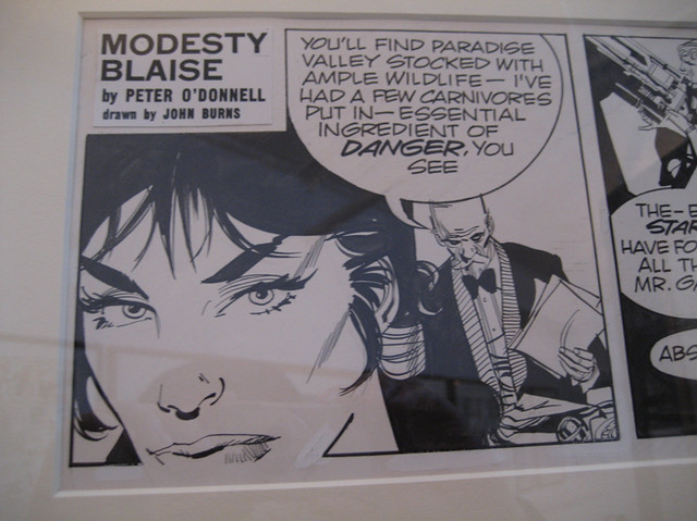 Modesty Blaise comic