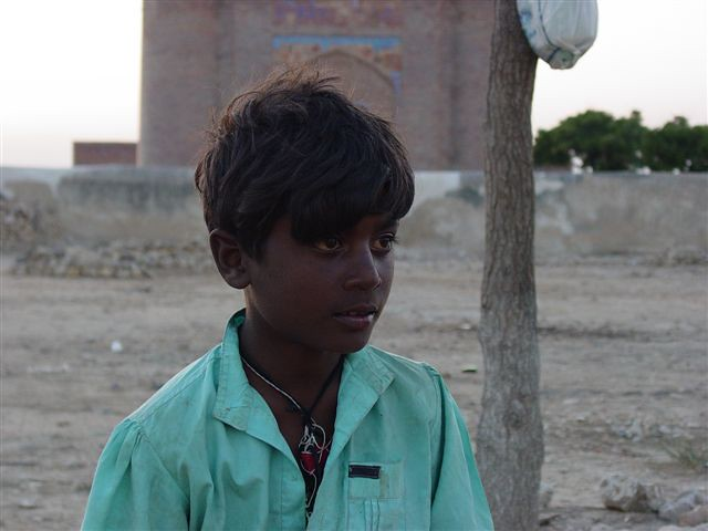 Boy -District Thatta, Sindh, Pakistan