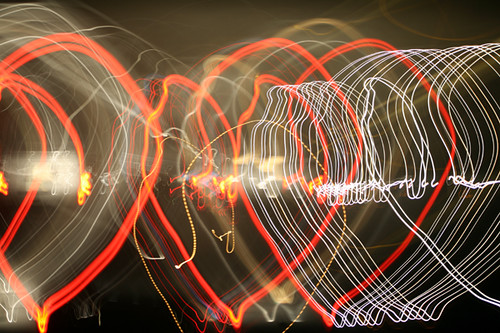 hearts on the freeway