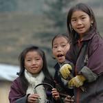 Schoolgirls - Sapa, Vietnam
